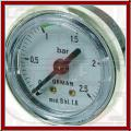 Manometer für Kessel 0-2,5bar San-Marco 85 FLEXA/E